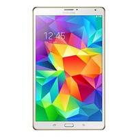 【当当自营】Samsung三星 8.4英寸平板电脑 Super AMOLED绚丽屏(2560x1600)双四核 TAB S WIFI版T700(炫金棕)