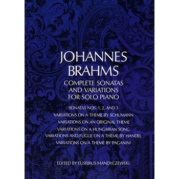 iations for solo piano 勃拉姆斯奏鸣曲和变奏曲钢琴独奏曲谱