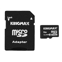Kingmax 胜创 TF 存储卡(8GB、Class10、标配卡托)
