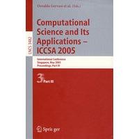 Computational Science and Its Applications - ICCSA 2005(计算机科学及其应用―ICCSA 2006 /会议录 第III部分)价格比较