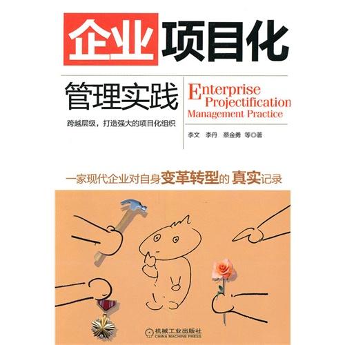 《企业项目化管理实践》封面