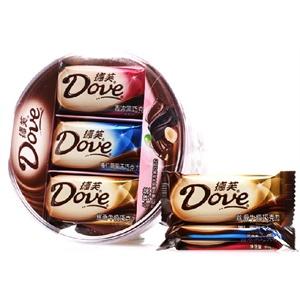 德芙(Dove)什锦巧克力碗装290.5g