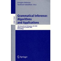 Grammatical Inference(文法推论:算法与应用/会议录)