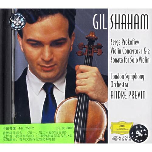 进口CD 普罗科菲耶夫 第一 第二小提琴协奏曲 , 无伴奏小...