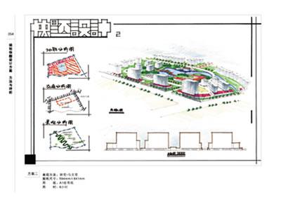 《规划快题设计图纸:方案与装订评析a2边方法图片