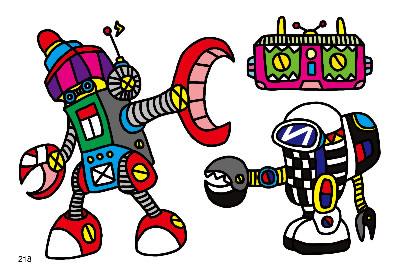 儿童彩笔画 儿童画大象的简笔画