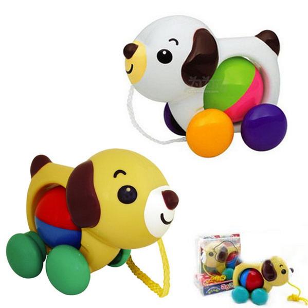 toyroyal皇室玩具手拉小狗tr709