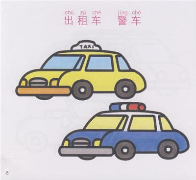 110警车简笔画/110警车简笔画图片/儿童简笔画警车